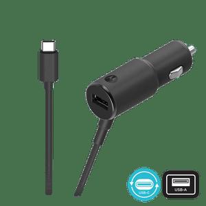 Chargeur de voiture à deux ports Motorola TurboPower ™ 36 W