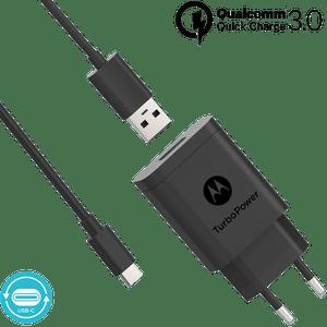 Chargeur mural Motorola TurboPower ™ 18 avec câble de données USB-C