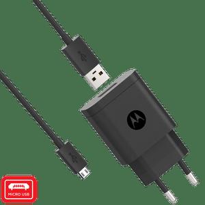 Chargeur mural rapide Motorola 10 W avec câble de données micro USB
